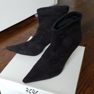 BCBG Pointed Ankle Booties